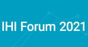 IHI Forum 2021 banner